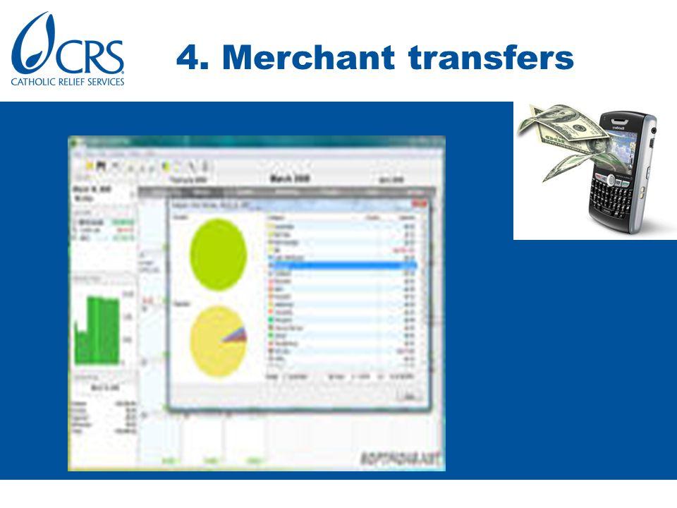 4. Merchant transfers