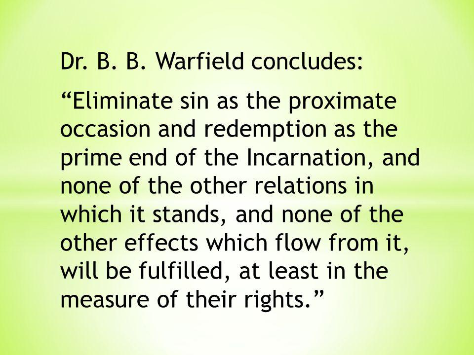 Dr. B. B.