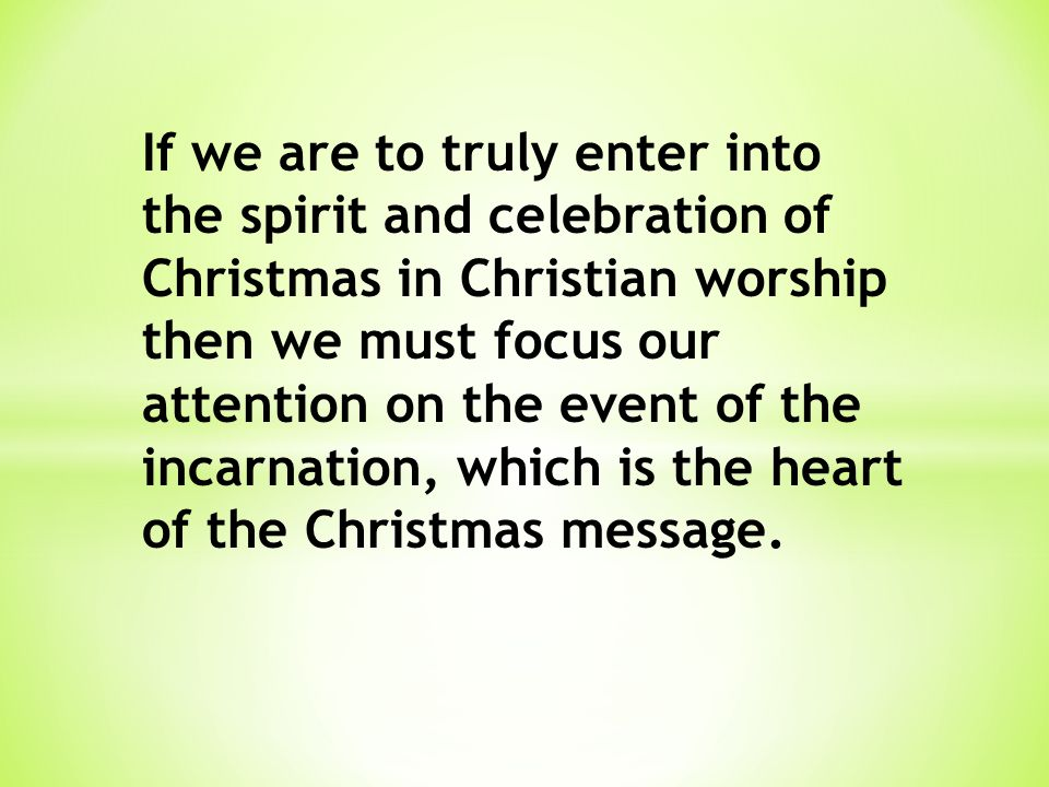 (2) Christ's Incarnation is Being Undermined and Attacked Today Even by so-called Christians In history there have been those who have sought to handle the difficulties of the incarnation by sacrificing either the deity of Christ or his humanity.