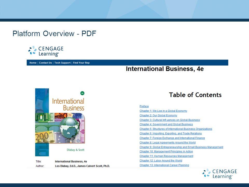 Platform Overview - PDF