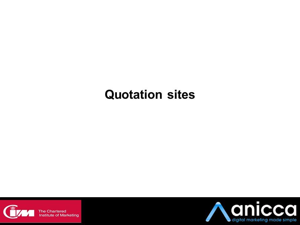 Quotation sites