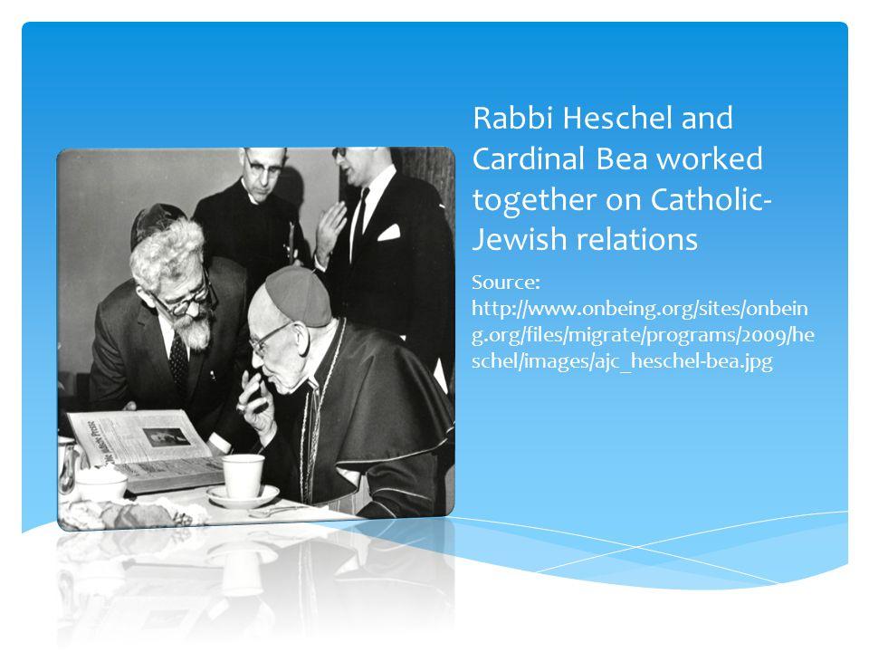Heschel with students Source: http://www.jtsa.edu/News/Press_Releases/Hesc hel_Rebroadcast_12309.xml