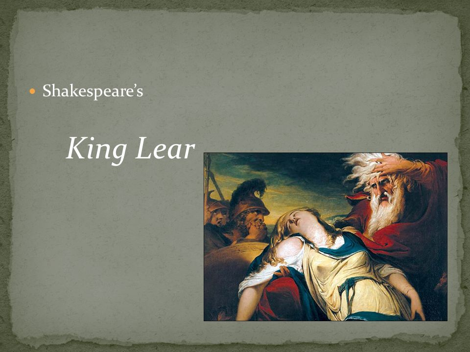 Shakespeare's King Lear