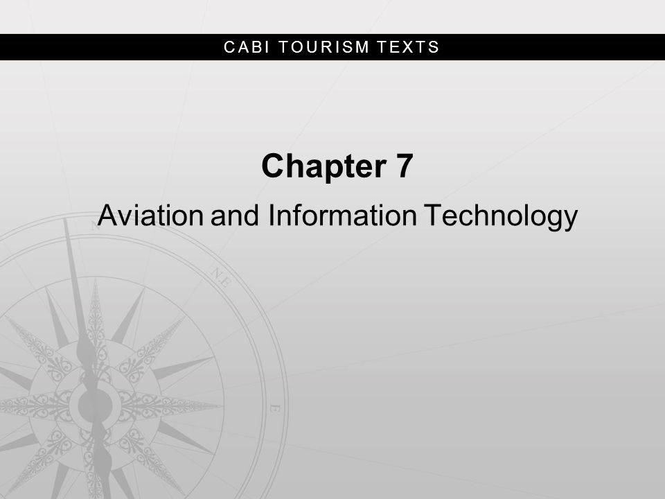 CABI TOURISM TEXTS Discussion Questions 4.By 2020 the global airline fleet is expected to be twice as large as in 2012 and by 2030 passenger numbers are expected to be double.