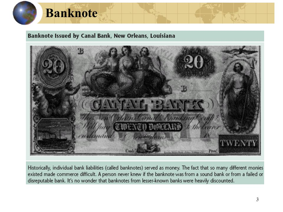 3 Banknote