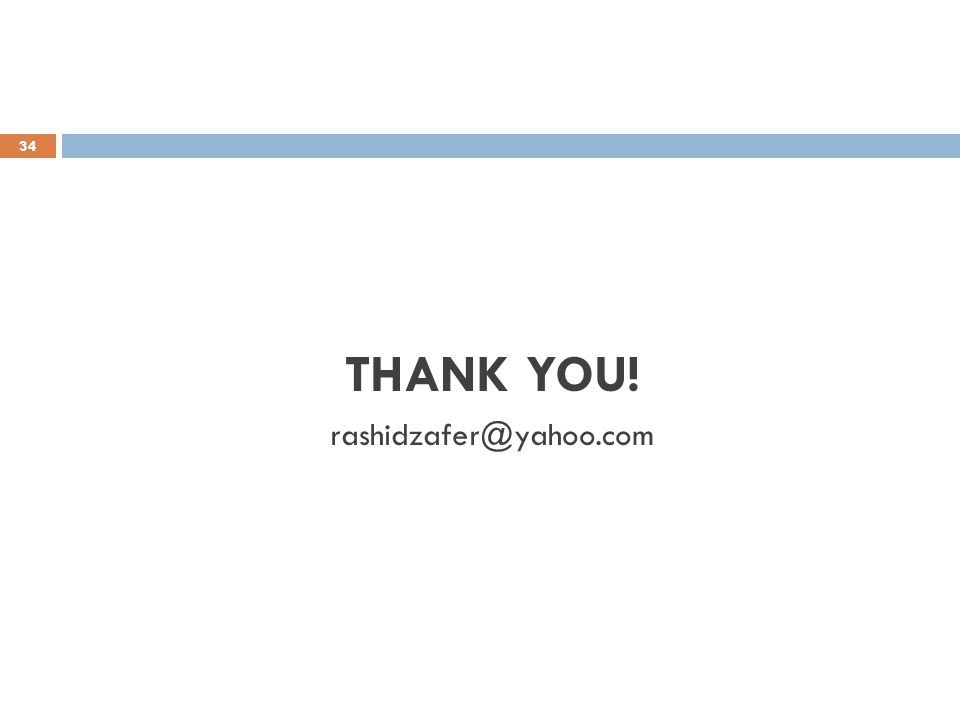 34 THANK YOU! rashidzafer@yahoo.com