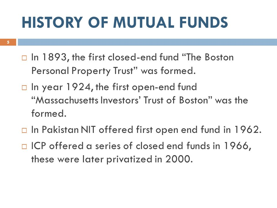 PROS AND CONS OF MUTUAL FUNDS 6  Diversification.