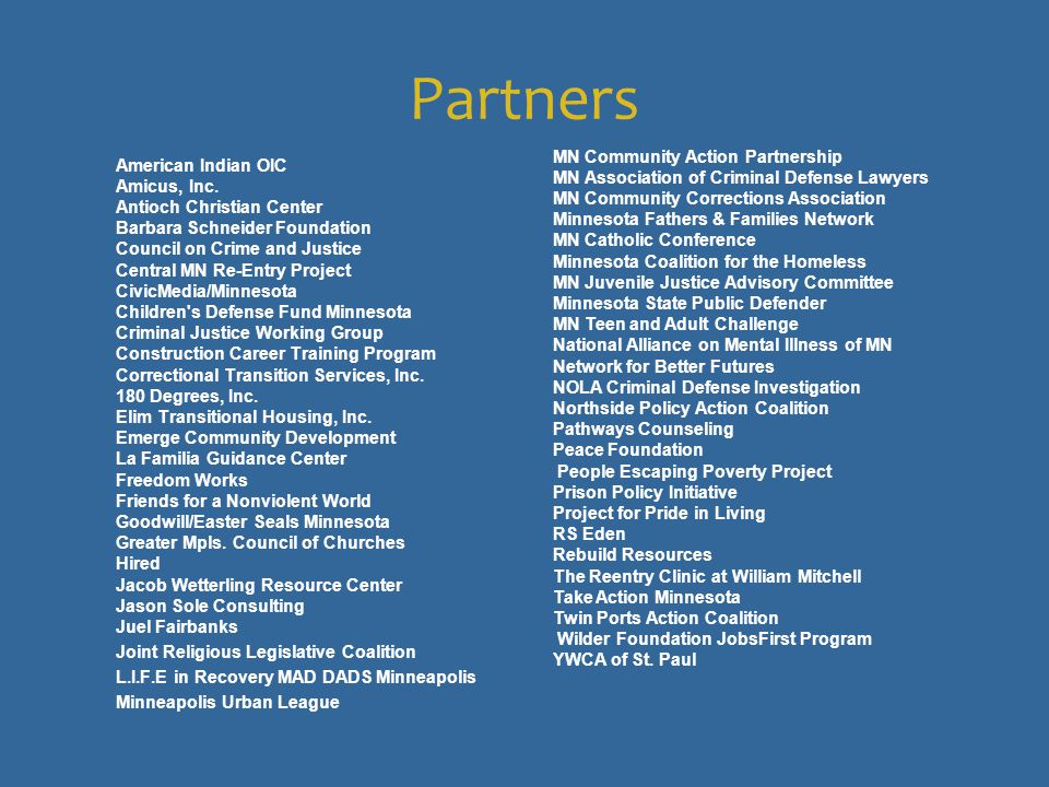 Partners American Indian OIC Amicus, Inc.