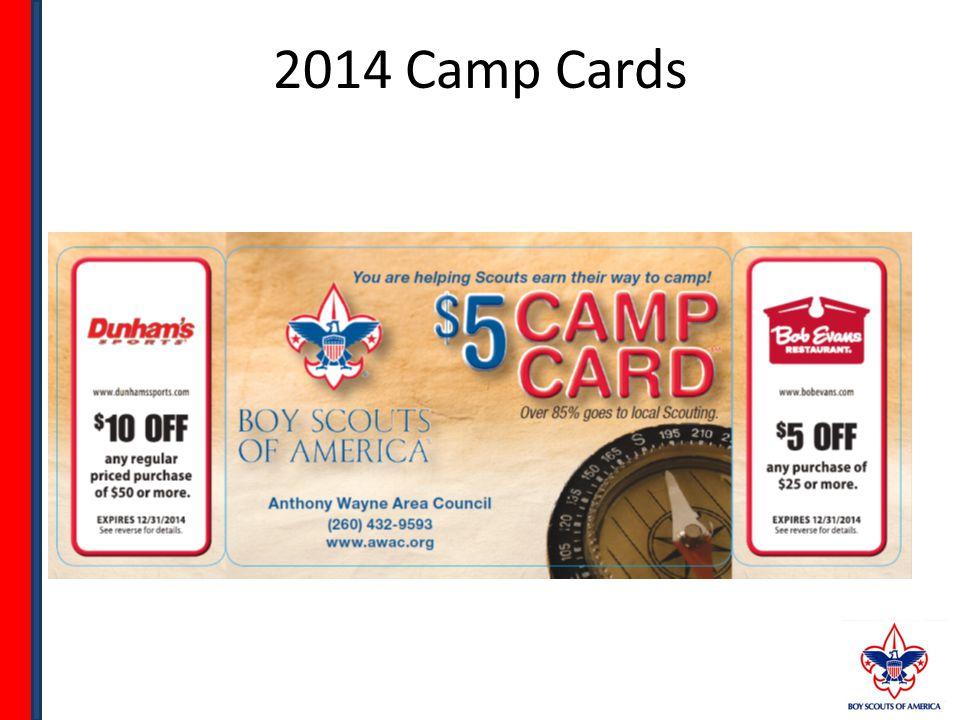 2014 Camp Cards