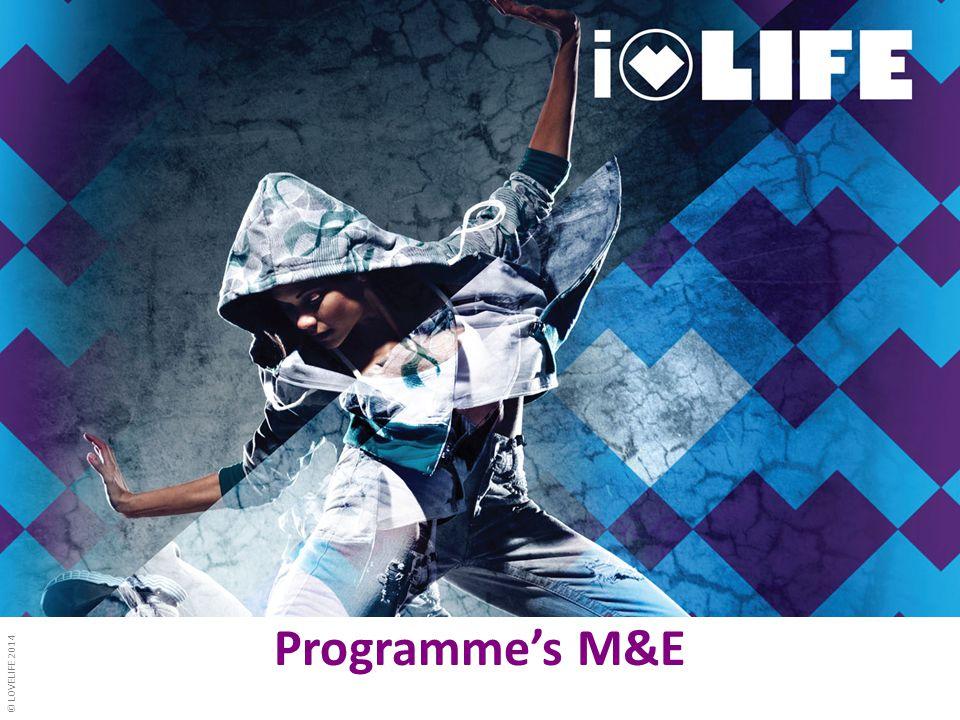 © LOVELIFE 2014 Programme's M&E