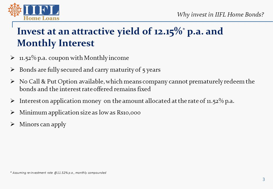 Certain statements made in this presentation may not be based on historical information or facts and may be forward looking statements , including those relating to general business plans and strategy of India Infoline Housing Finance Limited ( Company or Issuer ) its future outlook and growth prospects, and future developments in its businesses and its competitive and regulatory environment.