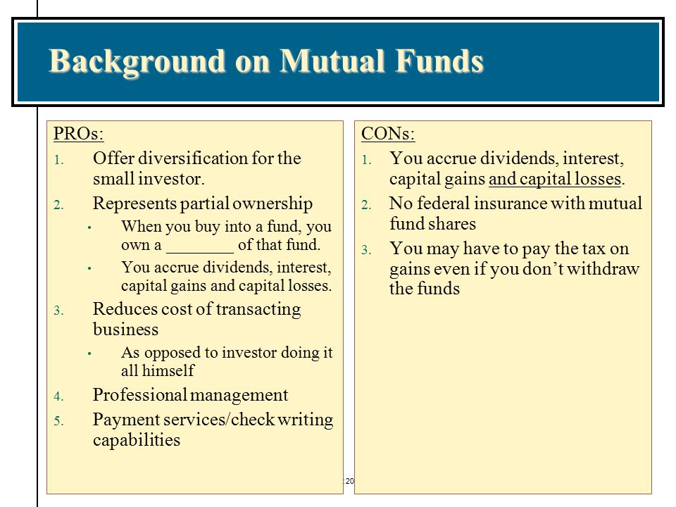 Example: American Century Investments Legacy Multi Cap Fund 7.