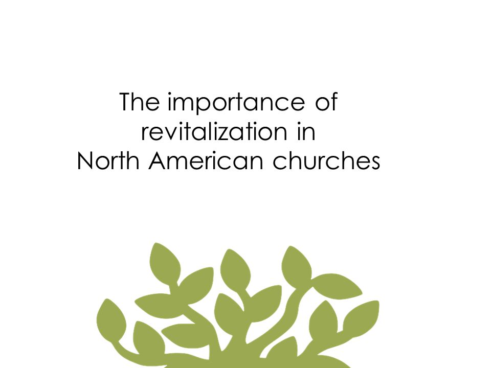 North American Statistics Of the 350,000 churches in America 80% have plateaued or are in decline 15% are growing by transfer Only 5% are growing by conversion Each year...
