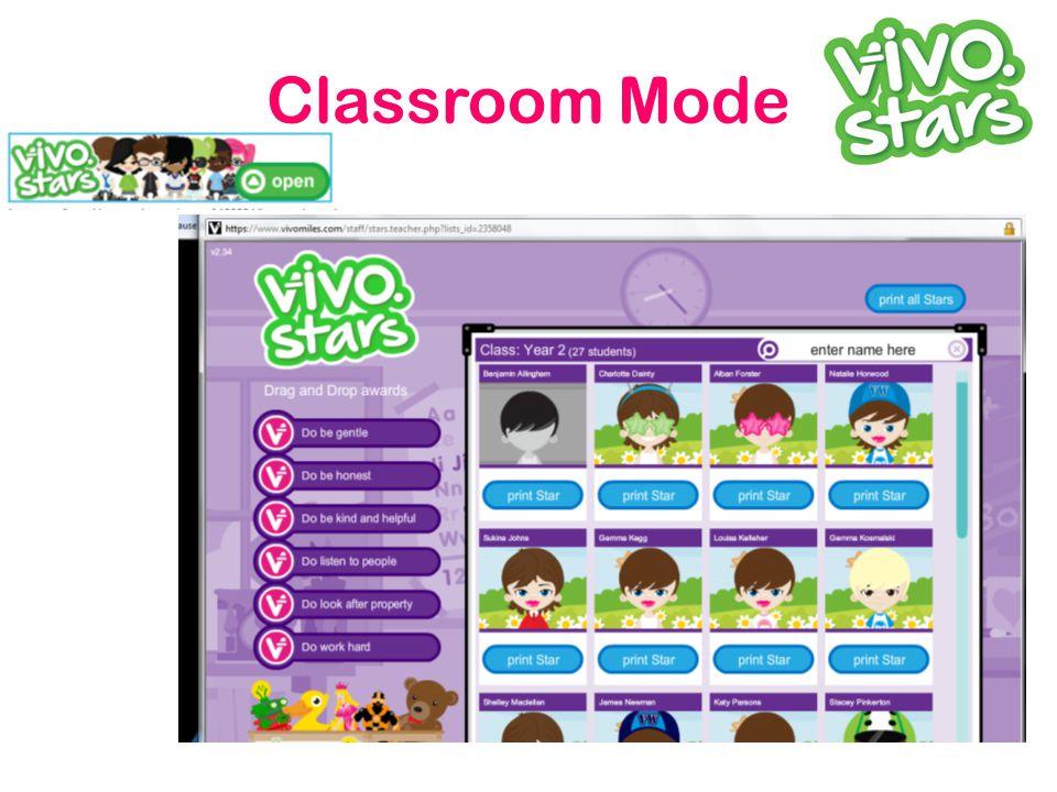 Classroom Mode