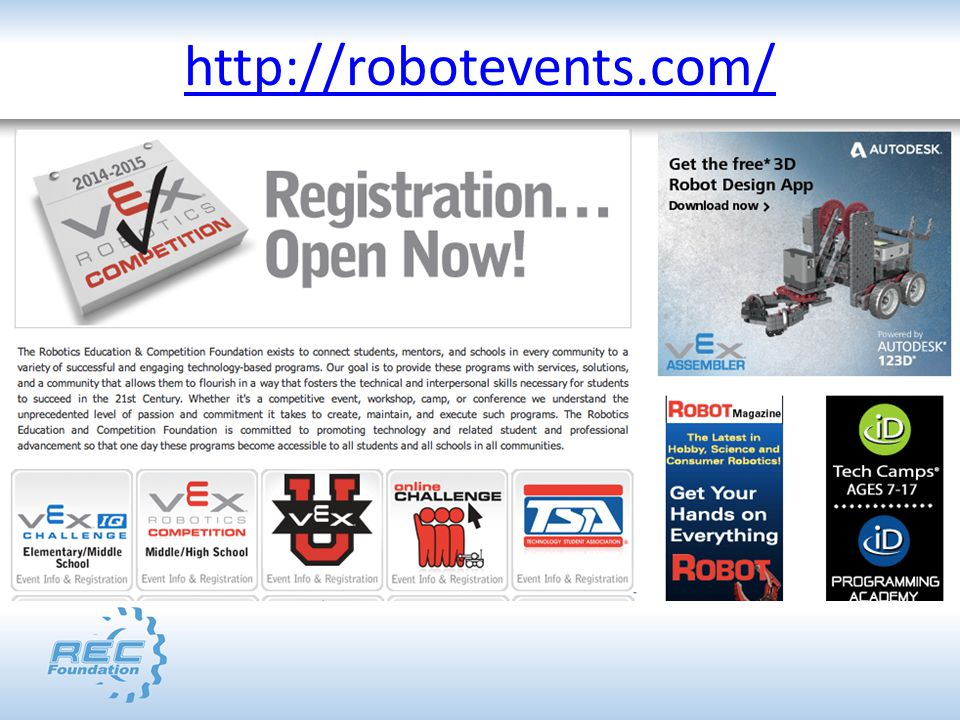 http://robotevents.com/