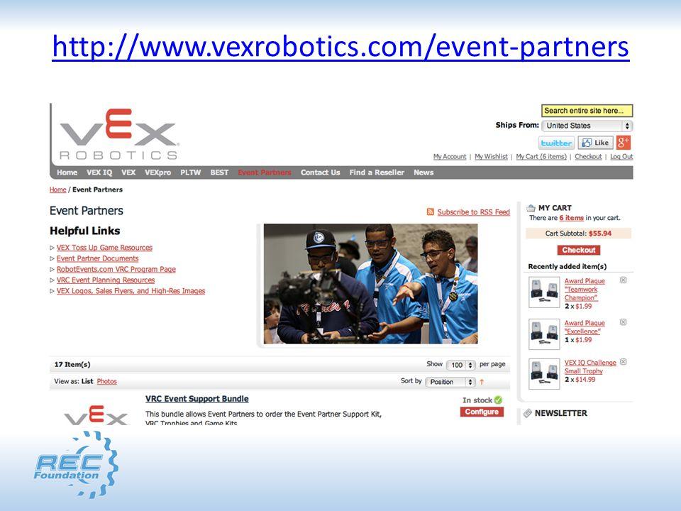 http://www.vexrobotics.com/event-partners