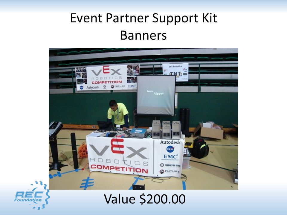 Event Partner Support Kit Banners Value $200.00