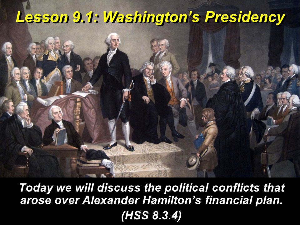 Vocabulary discuss – talk about or talk over political – having to do with government conflicts – disagreements precedent – an example that would become standard practice financial – having to do with money and budget