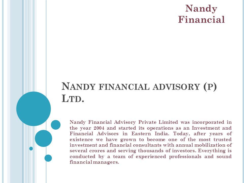 N ANDY FINANCIAL ADVISORY ( P ) L TD.