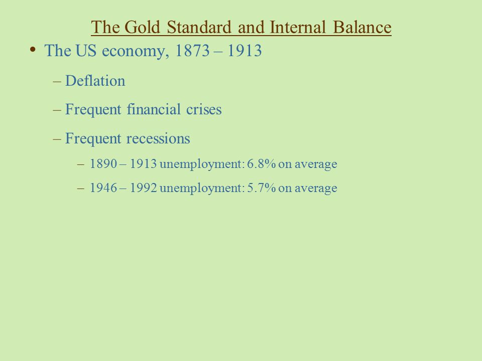 WW I: Capital flight  breakdown of gold standard  Interwar turbulence –Legacies of WW I –Redrawn borders  disrupted trade patterns –Overhang of Old Debts : »reparations/inter-allied loans – Labor empowered: The eight hour day Excessive claims  hyperinflation  Gold Standard Nostalgia Restore London dominance