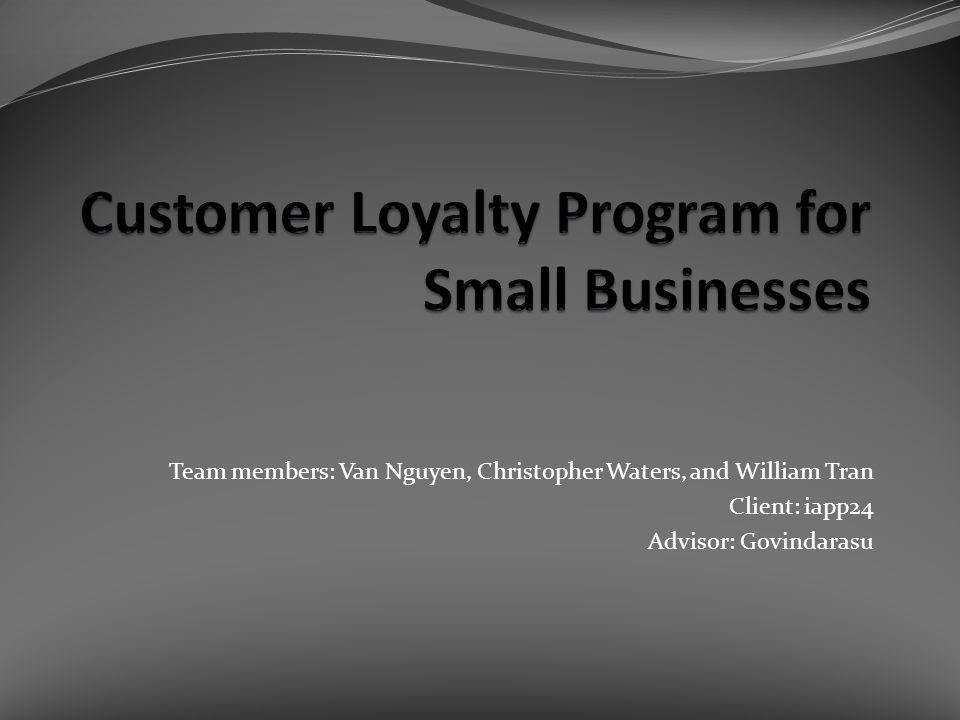 Team members: Van Nguyen, Christopher Waters, and William Tran Client: iapp24 Advisor: Govindarasu