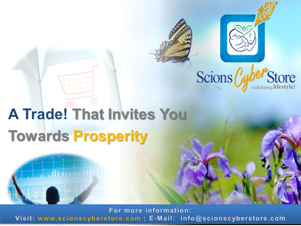 That Invites You A Trade! That Invites You Towards Prosperity 44