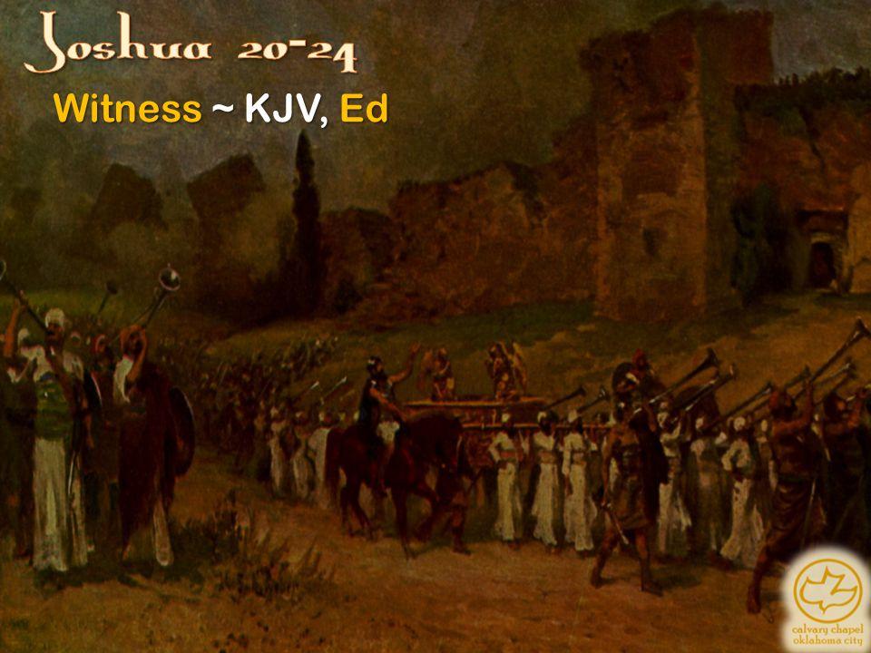 Witness ~ KJV, Ed