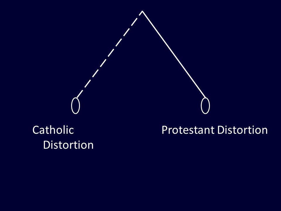 Catholic Distortion Protestant Distortion