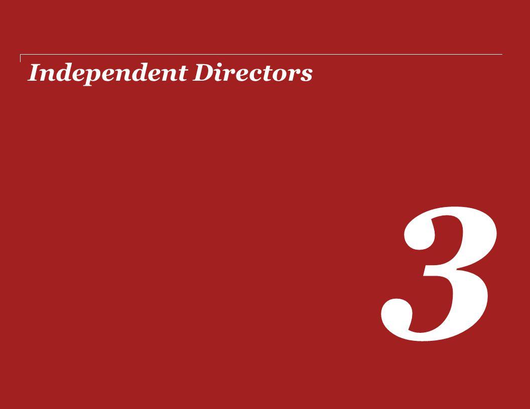Independent Directors 3
