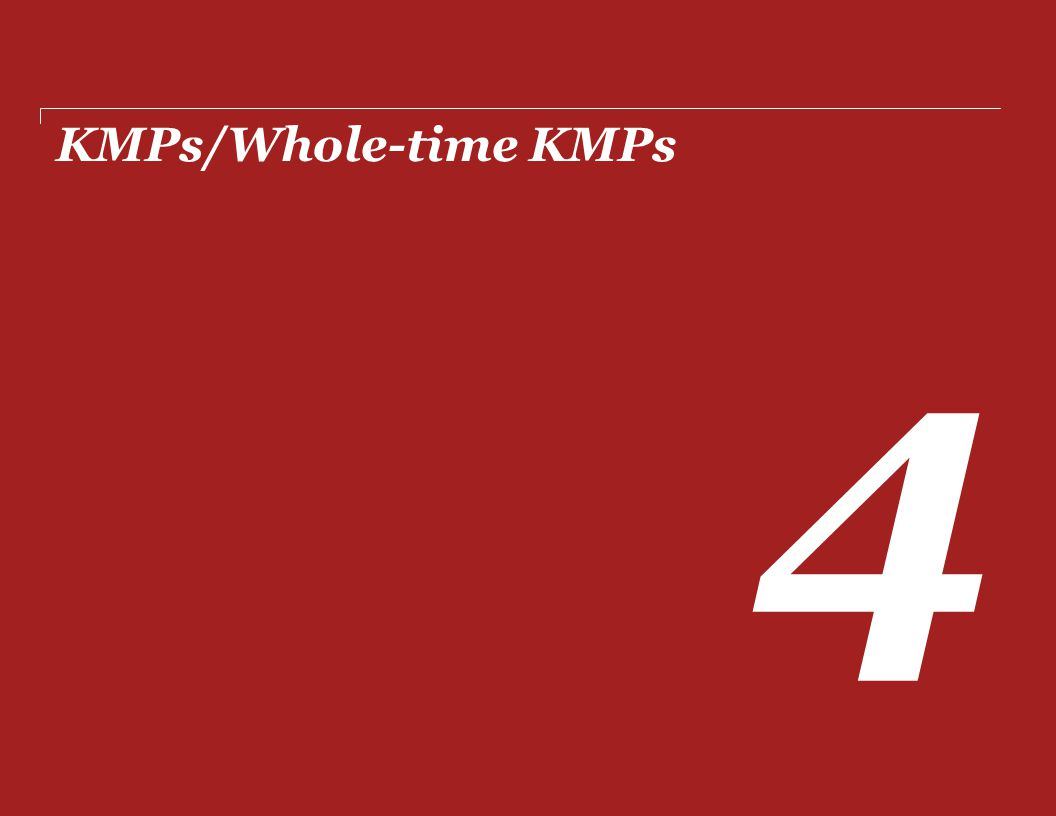 KMPs/Whole-time KMPs 4