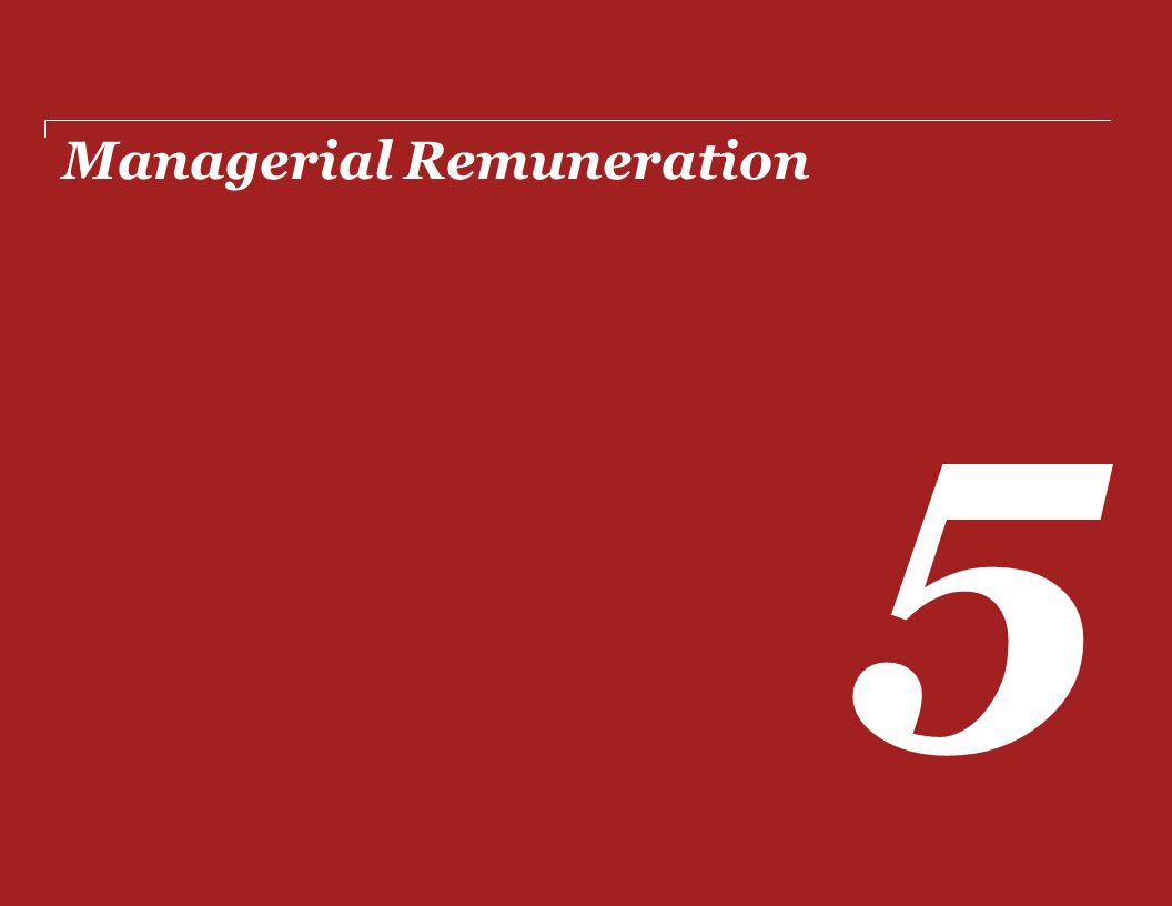 Managerial Remuneration 5