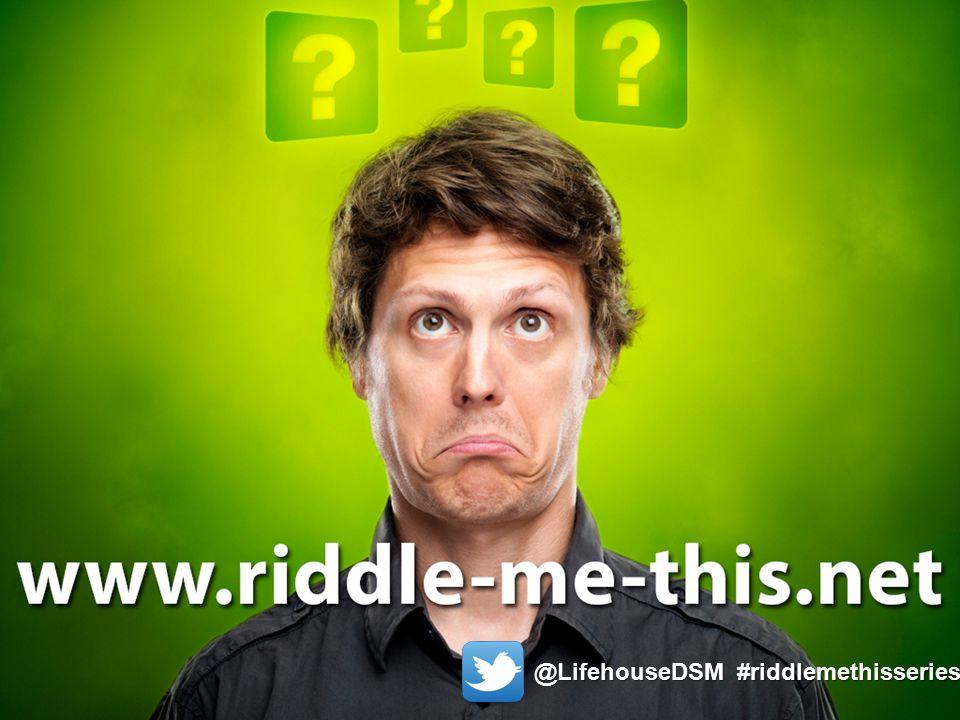 @LifehouseDSM #riddlemethisseries