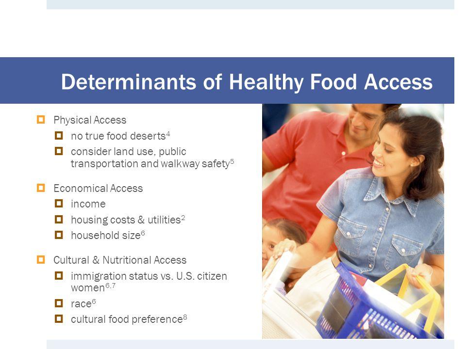 METHODS Healthy Food Access in WIC Households