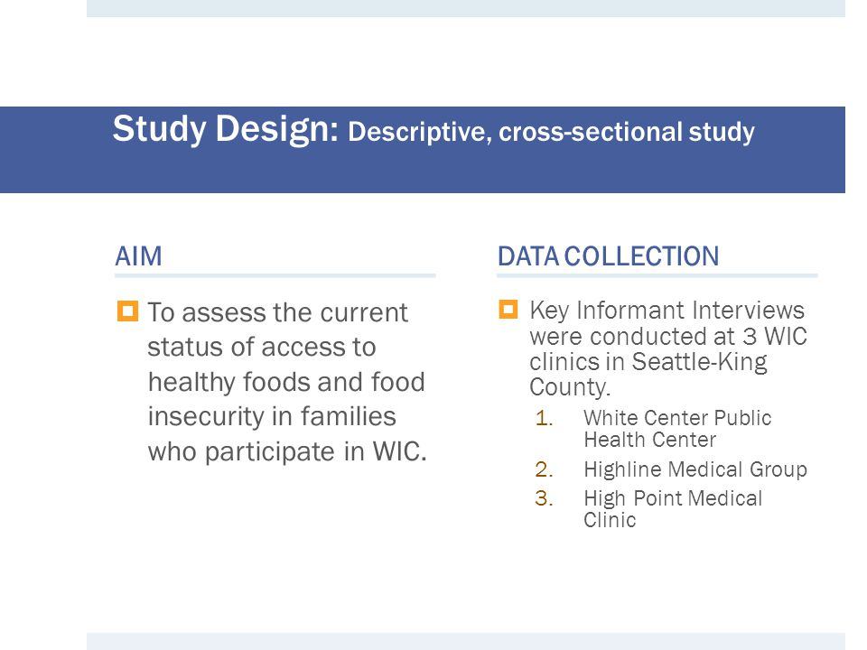 REFERENCES Healthy Food Access in WIC Households 1.Public Health Nutrition 531 Homepage.