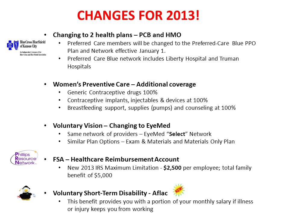 Employee Benefits Review January 1, 2013