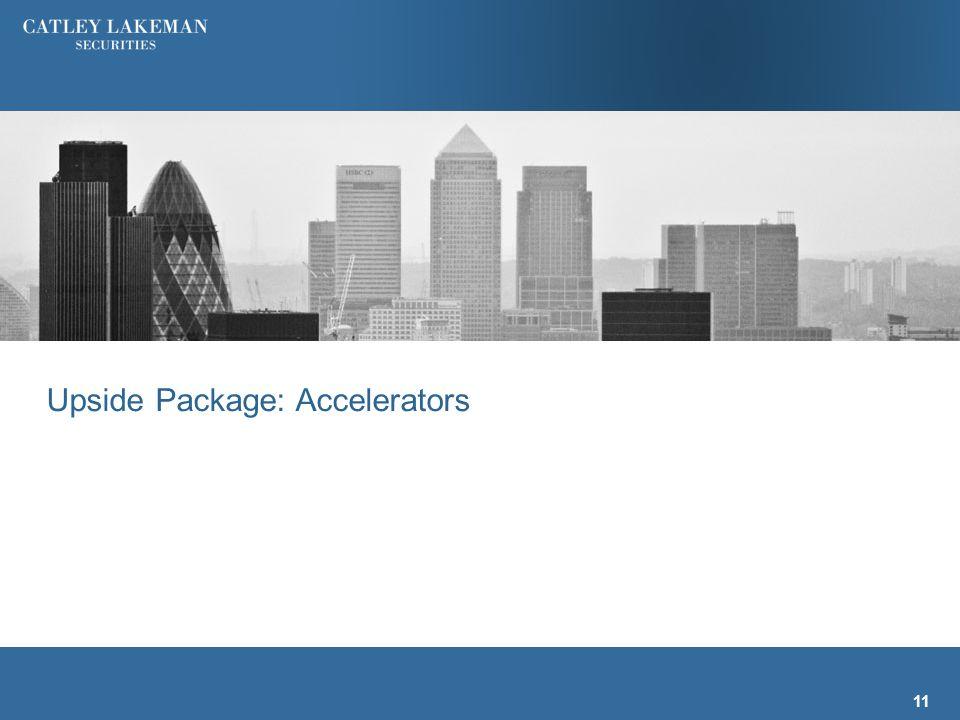 Upside Package: Accelerators 11