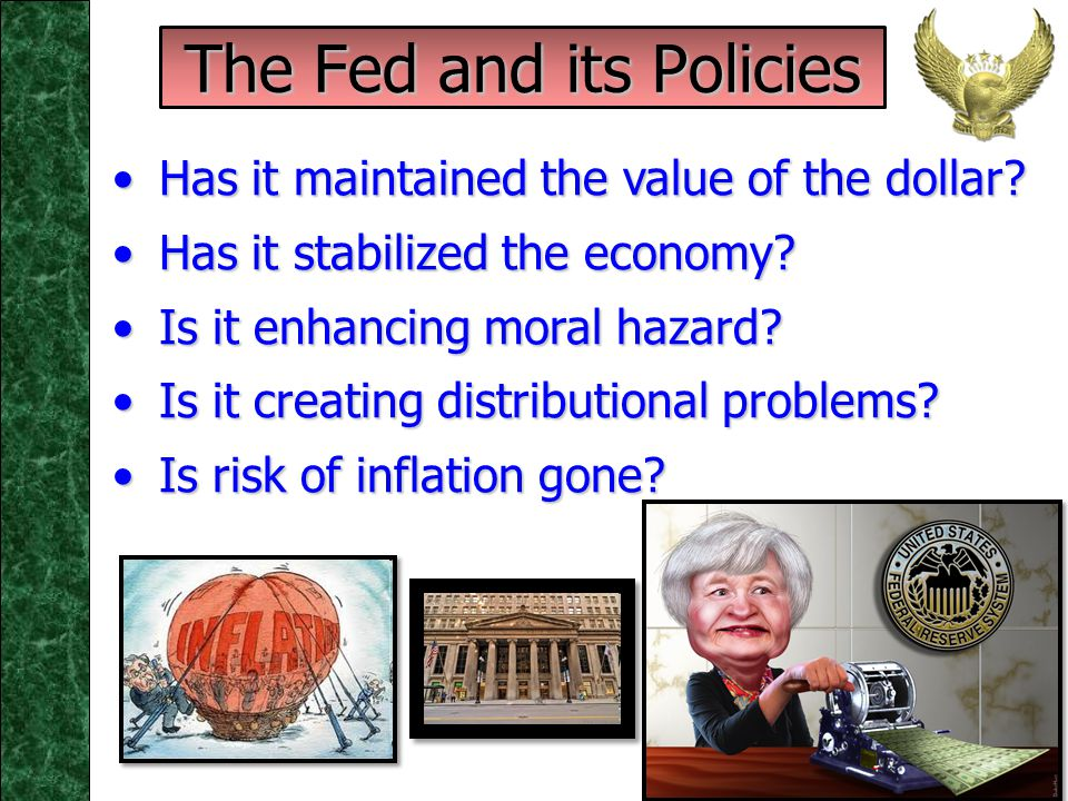 Monetary Policy: Contemporary Issues – Pt. II Monetary Policy: Contemporary Issues – Pt. II ECO 473 - Dr. Dennis Foster W.A. Franke College of Busines
