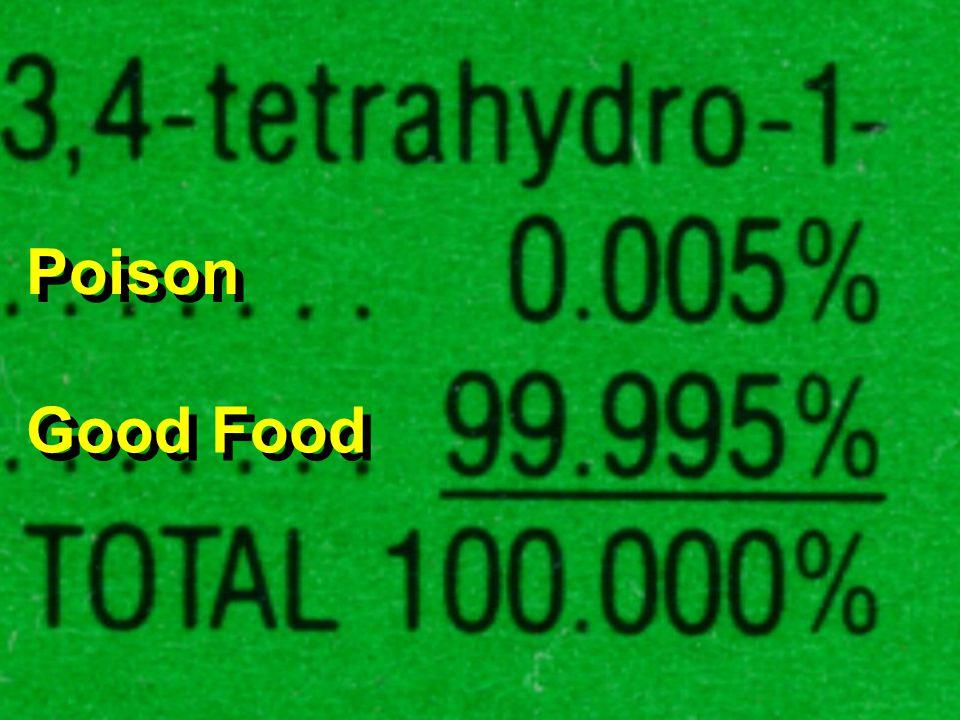 Poison Good Food