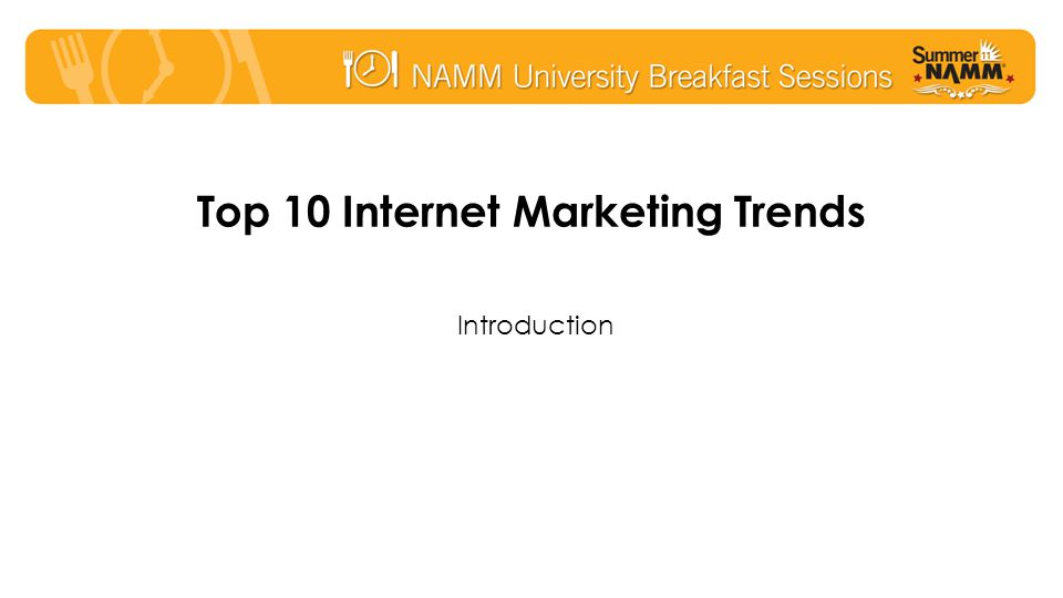 Trend #9: Instant Messaging –Chat becoming more familiar due to social media –The value of instant information is high –Chat tools converging and mobile friendly