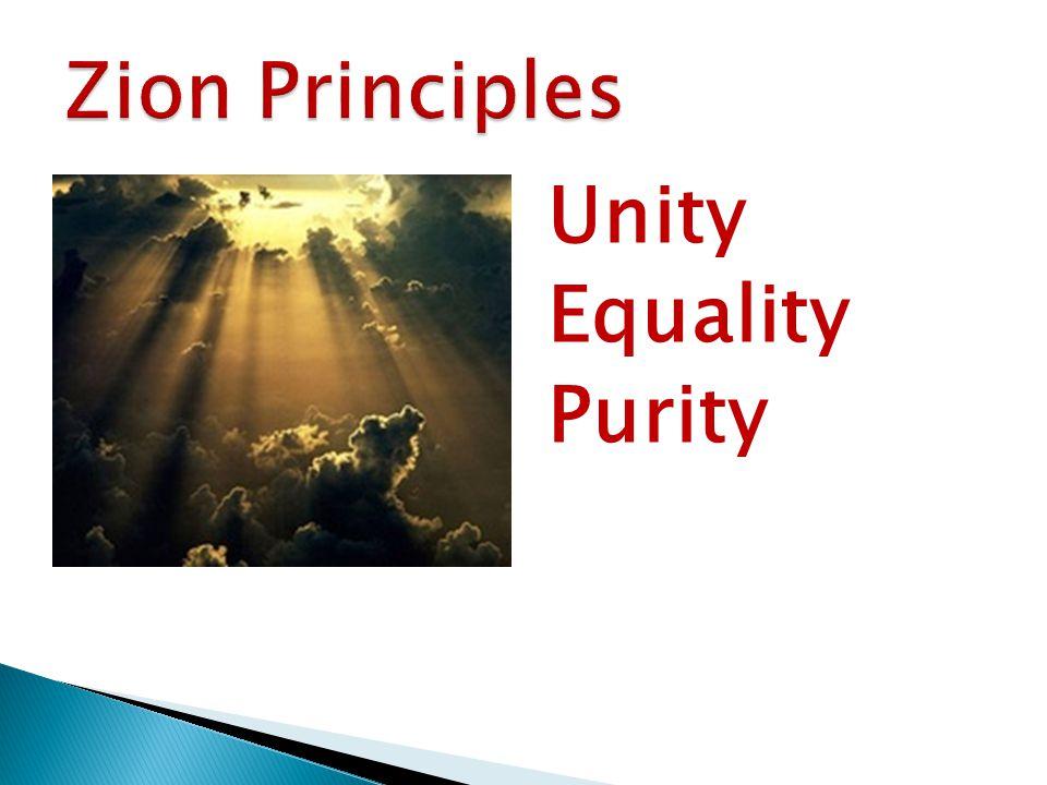 Unity Equality Purity