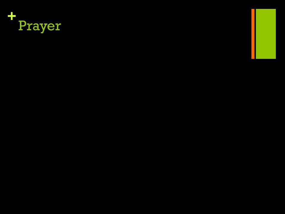 + Prayer