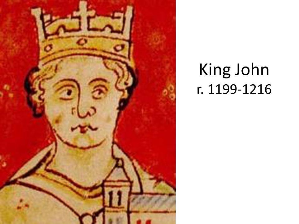 King John r. 1199-1216