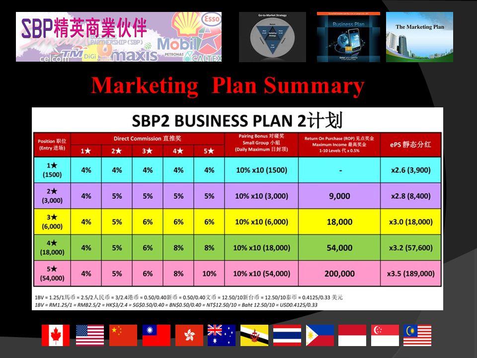 Marketing Plan Summary