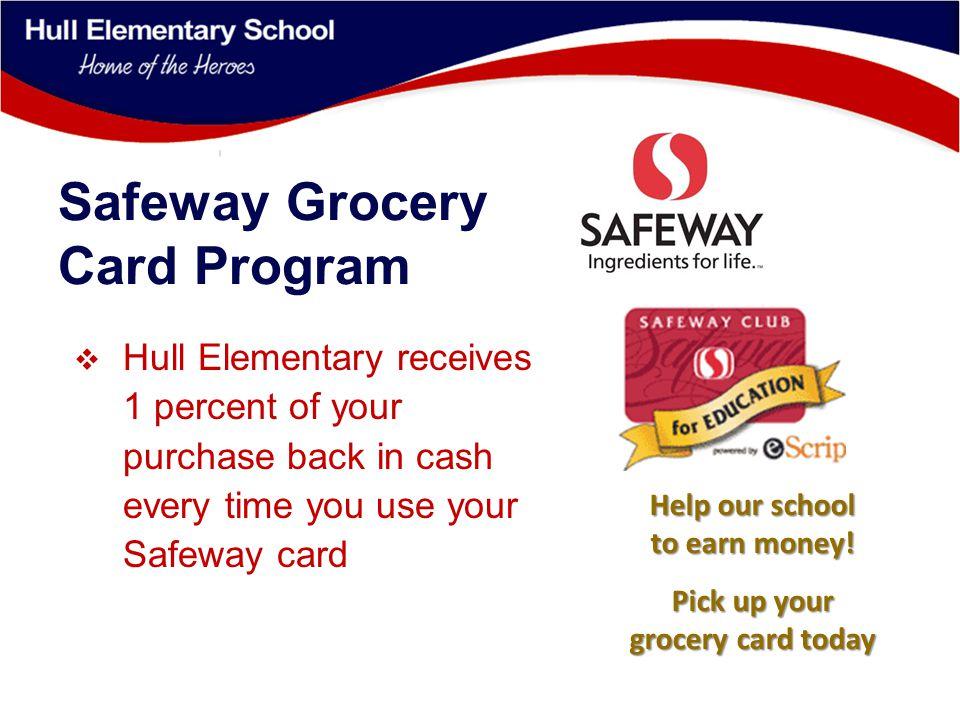 Safeway escrip Program Instructions 1.