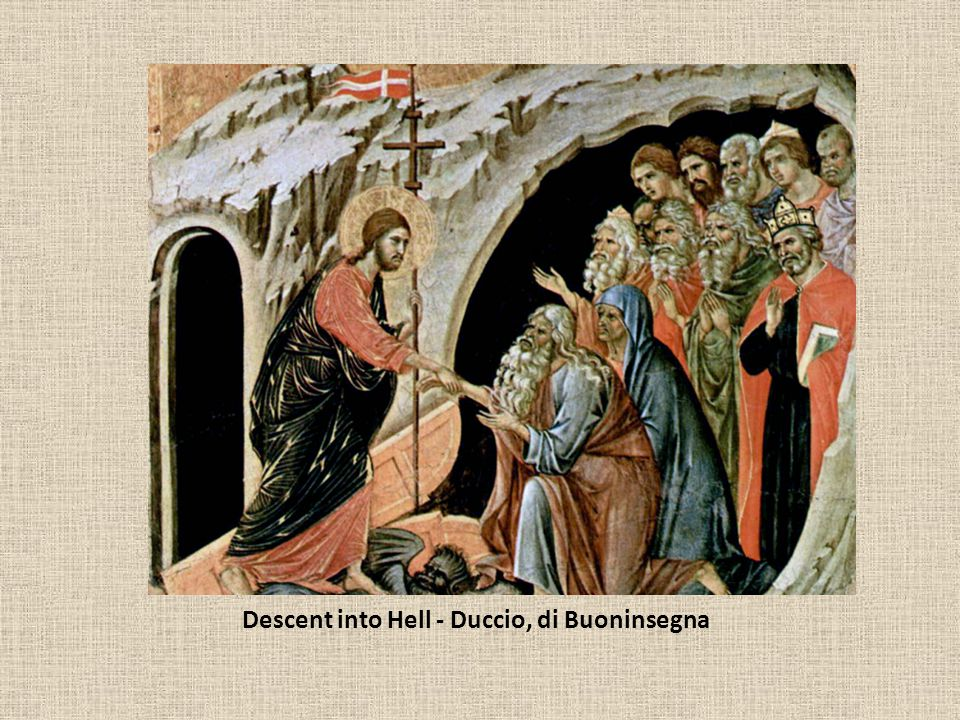 Descent into Hell - Duccio, di Buoninsegna