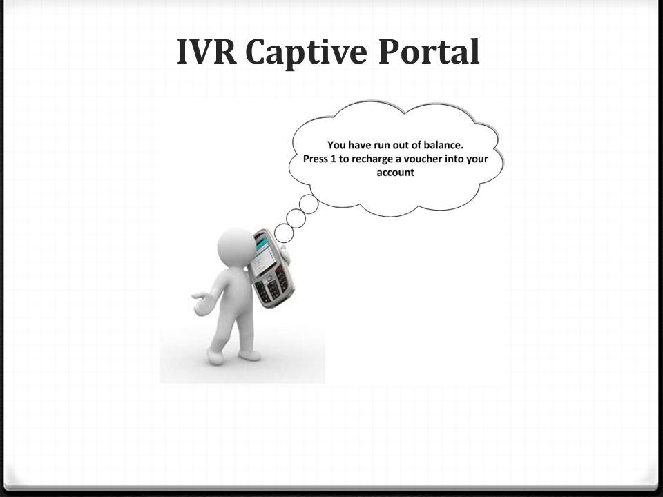 IVR Captive Portal