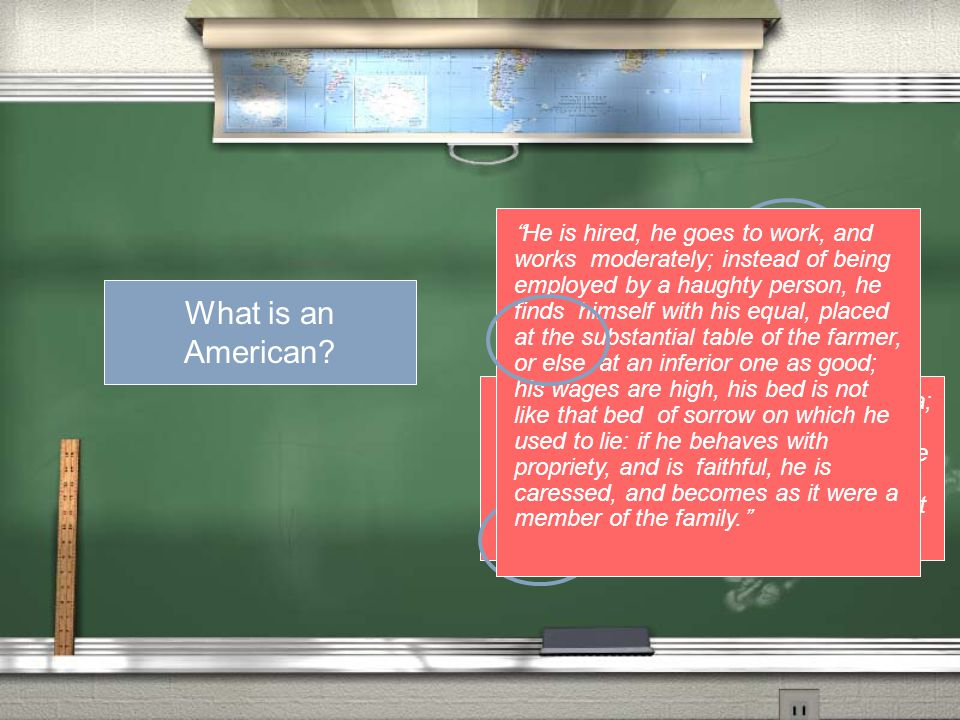 What is an American? Outside of History Pragmatic Independent Cooperative