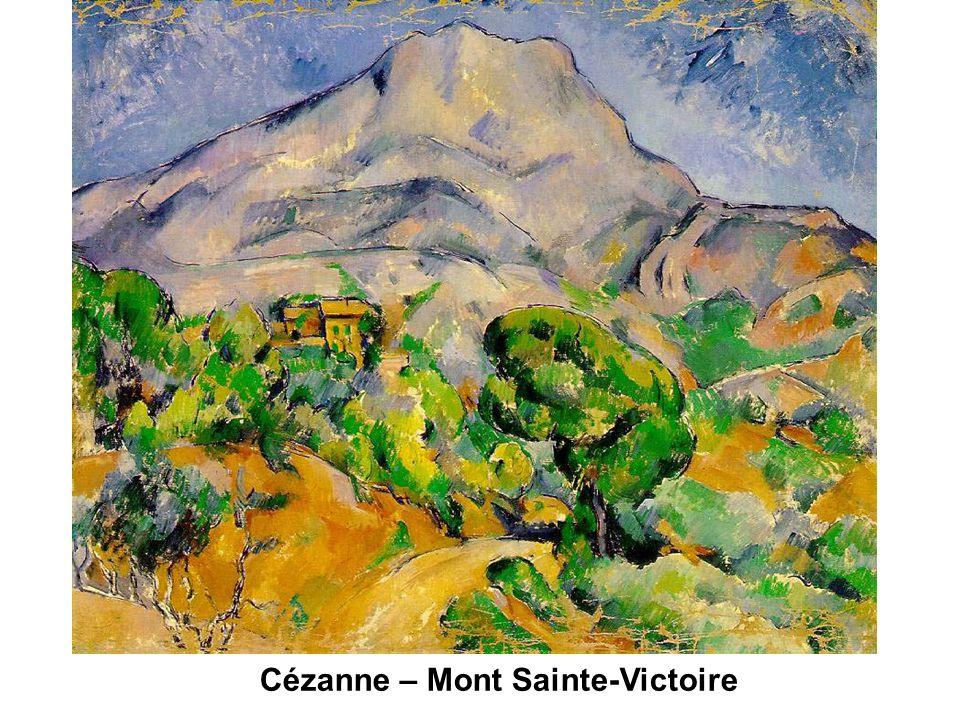 Cézanne – Mont Sainte-Victoire