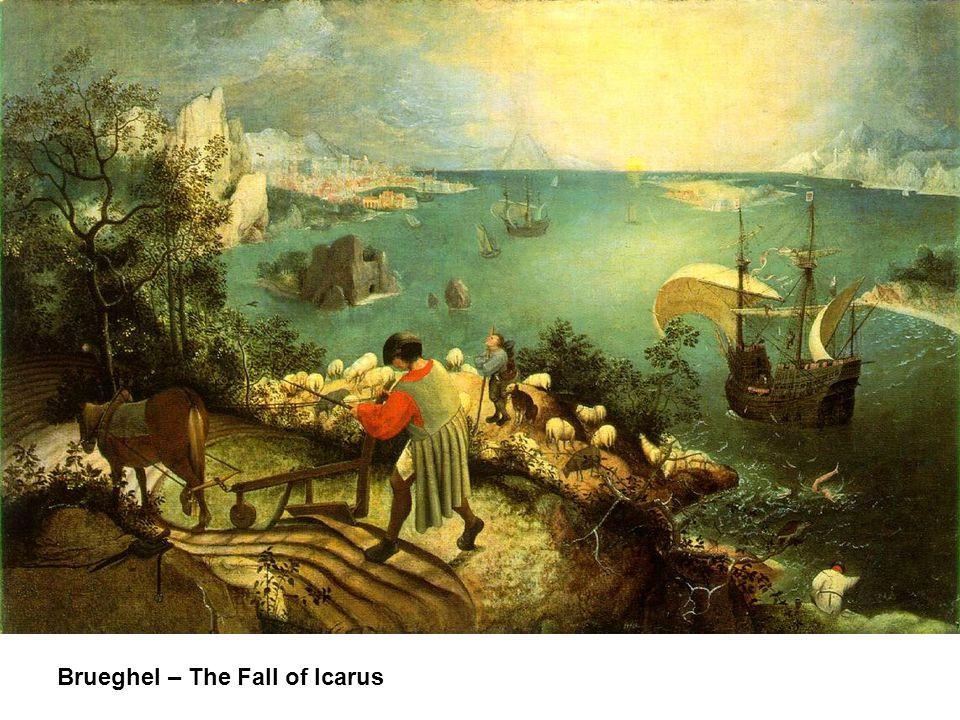 Brueghel – The Fall of Icarus