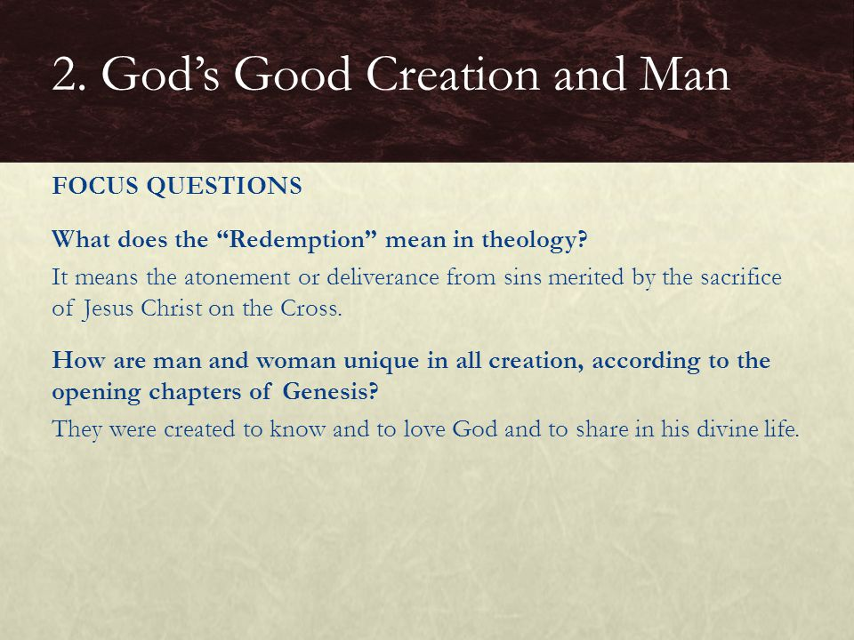 How did sin result in a dramatic change in the human condition.